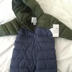 Infant snow suit